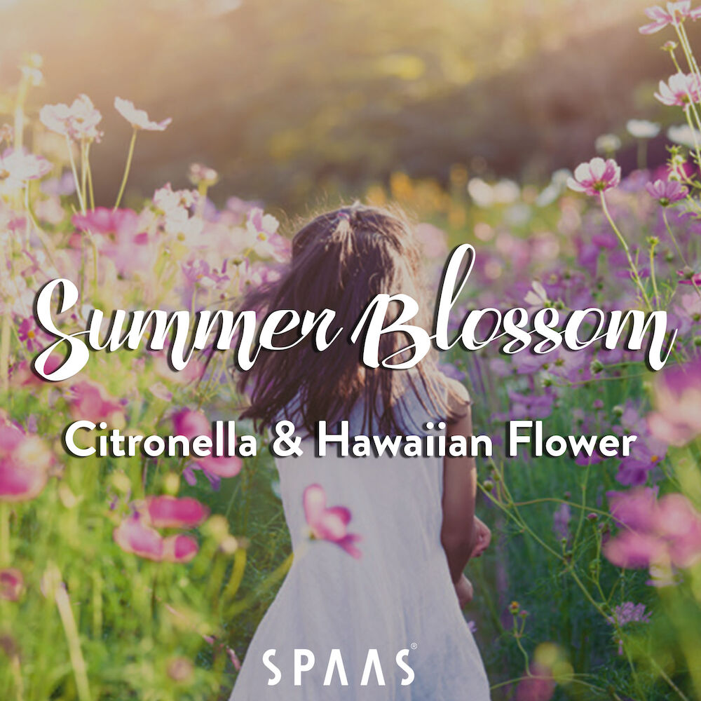 Scented-Candles-Spaas-Summer-Blossom-scent-citronella-hawaiian-flower