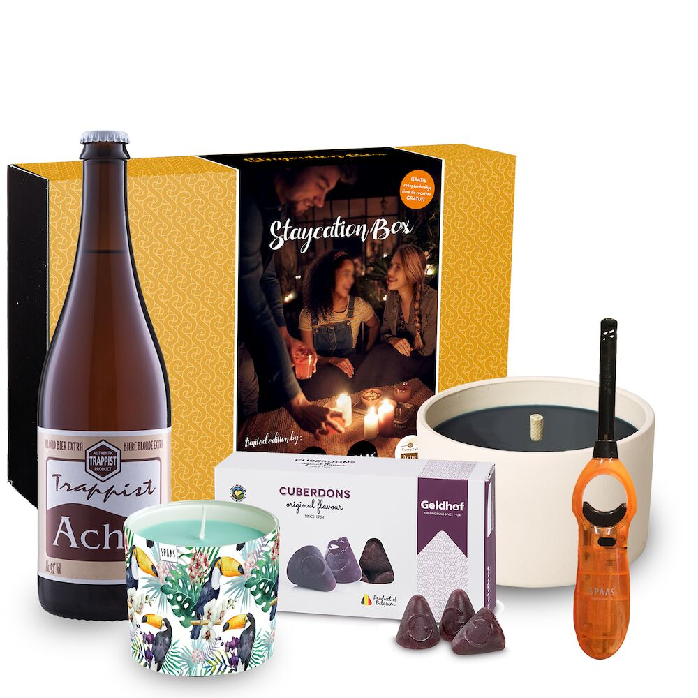SPAAS Staycation Box | Achelse Trappist